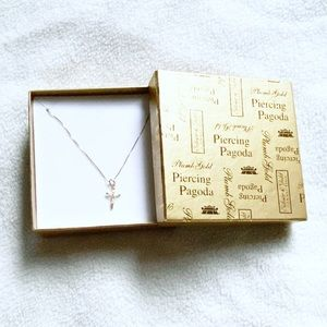 Children's 14K Gold Fill Jesus on Cross Necklace